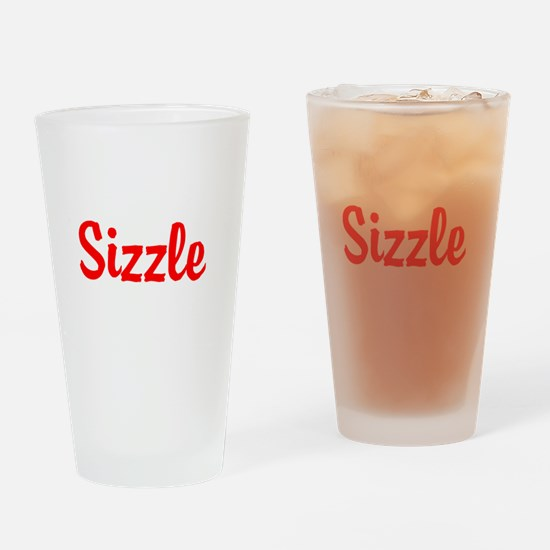 Sizzle Drinking Glass