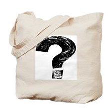 Artistic Question Mark Tote Bag