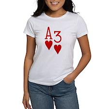 Ace Three Poker Tee