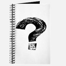 Artistic Question Mark Journal