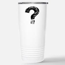 Artistic Question Mark Travel Mug