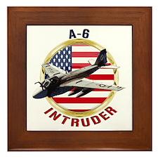 A-6 Intruder Framed Tile