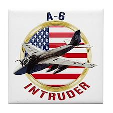 A-6 Intruder Tile Coaster