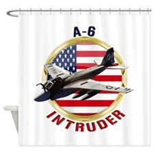 A-6 Intruder Shower Curtain