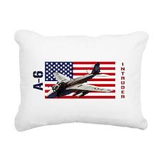 A-6 Intruder Rectangular Canvas Pillow