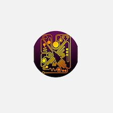 Nazca Hummingbird (P) Mini Button
