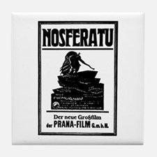 Nosferatu Film Poster Tile Coaster