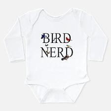 Bird Nerd Long Sleeve Infant Bodysuit