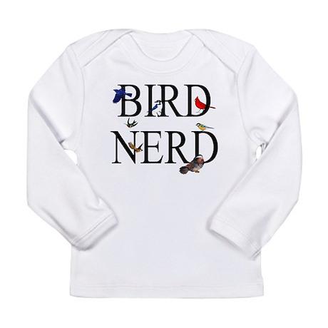 Bird Nerd Long Sleeve Infant T-Shirt