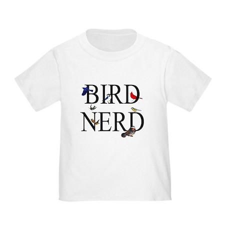 Bird Nerd Toddler T-Shirt