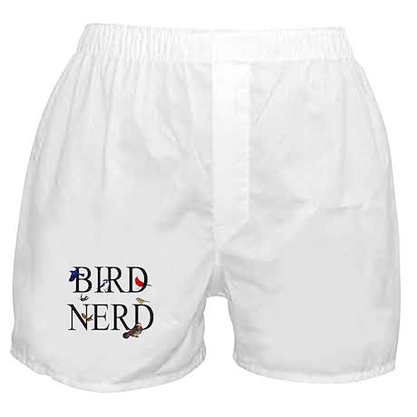 Bird Nerd Boxer Shorts