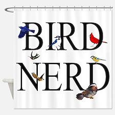 Bird Nerd Shower Curtain