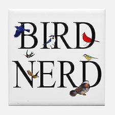 Bird Nerd Tile Coaster