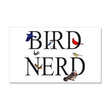 Bird Nerd Car Magnet 20 x 12