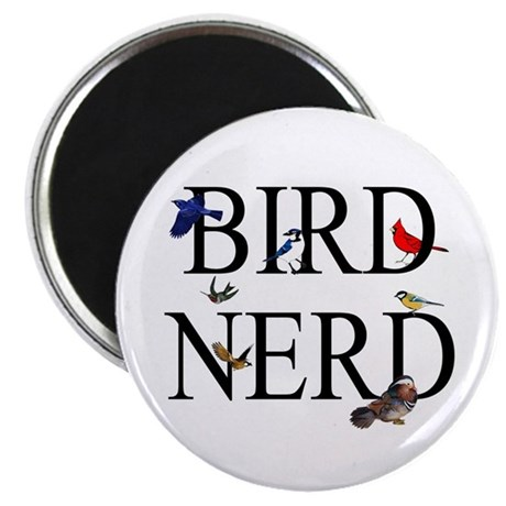 "Bird Nerd 2.25"" Magnet (10 pack)"
