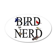 Bird Nerd Wall Decal