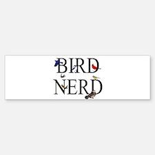 Bird Nerd Bumper Bumper Sticker