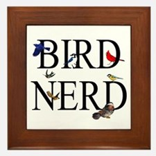 Bird Nerd Framed Tile