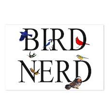 Bird Nerd Postcards (Package of 8)