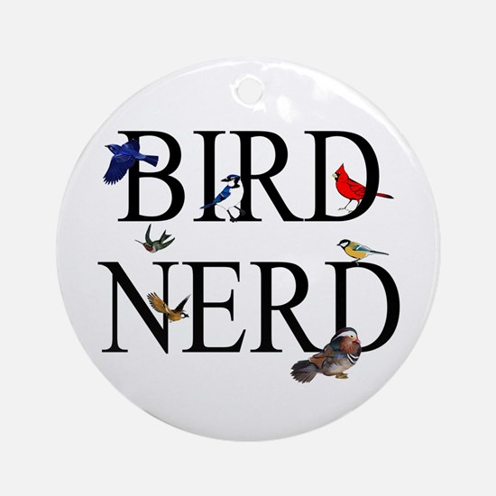 Bird Nerd Ornament (Round)