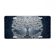 Tree of Life Nova Aluminum License Plate