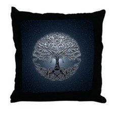 Tree of Life Nova Throw Pillow