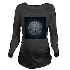 Tree of Life Nova Long Sleeve Maternity T-Shirt
