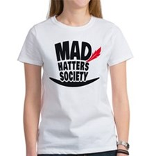 Mad Hatters Society Logo T-Shirt