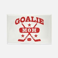 Goalie Mom Rectangle Magnet