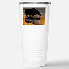 Moose & Fall Reflection Travel Mug
