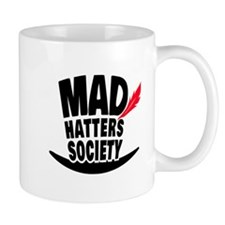 Mad Hatters Society Logo Mugs