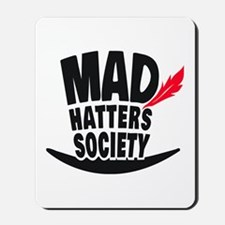 Mad Hatters Society Logo Mousepad