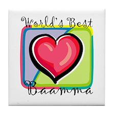 WB Grandma [Telugu] Tile Coaster
