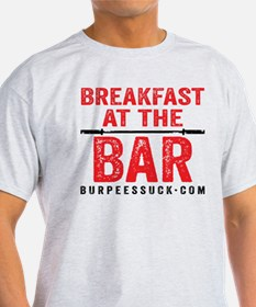 BREAKFAST AT THE BAR - WHITE T-Shirt