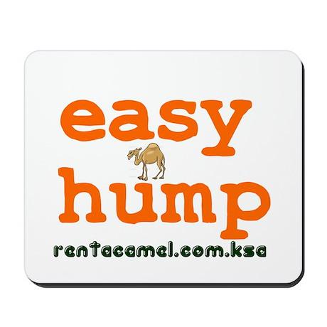 EASYHUMP - RENTACAMEL Mousepad