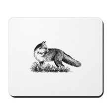 Red Fox (illustration) Mousepad