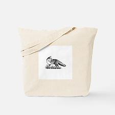 Red Fox (illustration) Tote Bag