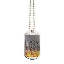 It's A Desire Volleyball Dog Tags