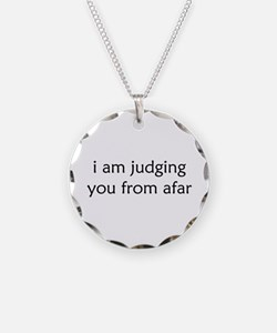 Judging From Afar Necklace