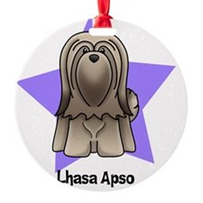 Anime Star Lhasa Apso Ornament