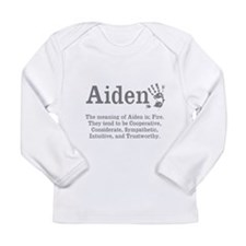 The Meaning of Aiden Long Sleeve T-Shirt