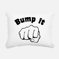 Fist Bump It Rectangular Canvas Pillow