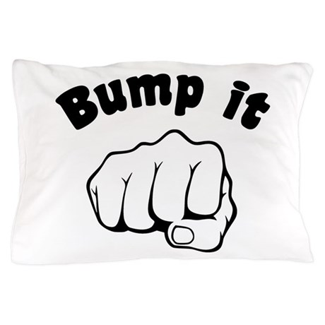 Fist Bump It Pillow Case