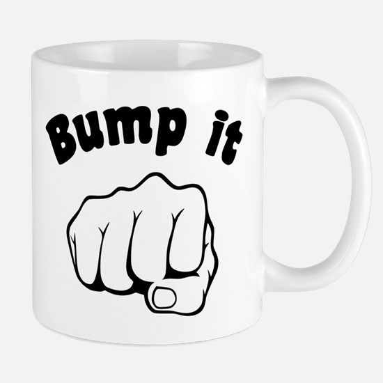 Fist Bump It Mugs
