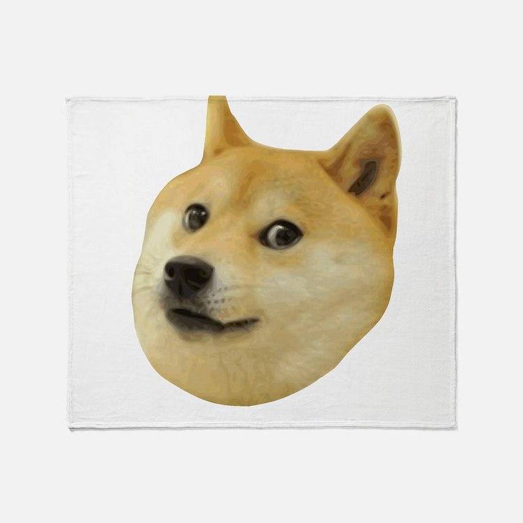 Doge Very Wow Much Dog Such Shiba Shibe Inu Throw