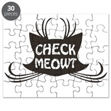 Check Meowt Kitty Cat Meow Puzzle