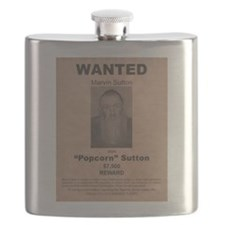 Popcorn Sutton Wanted Poster by McMinnie Flask