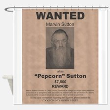 Popcorn Sutton Wanted Poster by McMinnie Shower Cu