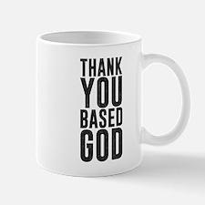 Thank You Based God Mugs