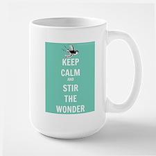 Keep Calm and Stir the Wonder Mugs